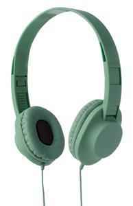 Grüne Kopfhörer