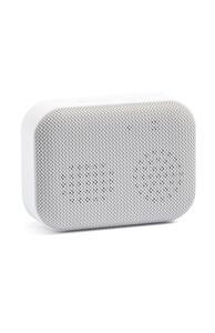 Weißer kabelloser Bluetooth-Lautsprecher