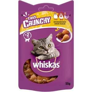 Whiskas Trio Crunchy Treats Geflügelgeschmack 2.16 EUR/100 g