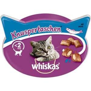 Whiskas Knuspertaschen™ mit Lachs 1.98 EUR/100 g