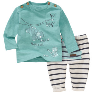 Newborn Langarmshirt und Jogginghose im Set
