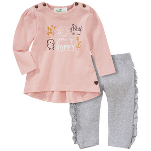 Newborn Langarmshirt und Leggings im Set