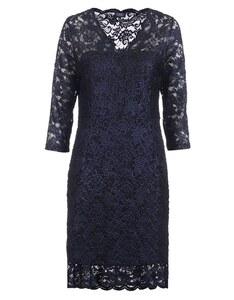 Viventy - festliches Spitzen-Mesh-Kleid, bicolor