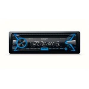 Sony MEX-N4100BT Autoradio, CD-Tuner mit Bluetooth, USB-/AUX-Eingang, iPod Control/SongPal für iPhone und Android-Smartphones, 1-DIN