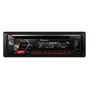 Pioneer DEH-S040BT Autoradio mit CD-Tuner, Bluetooth, USB und AUX-Eingang, Spotify, unterstützt iPhone-Direktsteuerung und Android (AOA 2.0), 1-DIN