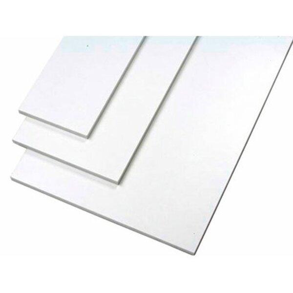Möbelbauplatte Weiß 260 cm x 20 cm x 1,9 cm