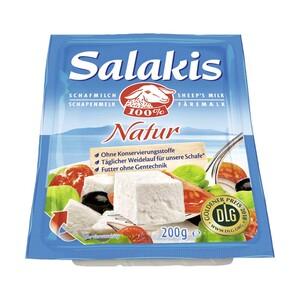 Salakis Schafskäse Französischer Weichkäse in Lake, 48 % Fett i. Tr./9 % Fett absolut, versch.Sorten, jede 180/200-g-Packung
