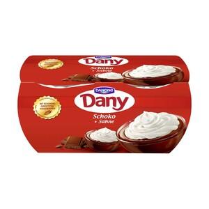 Danone Dany Sahne versch. Sorten, jede 4 x 115/80 g = 460/320-g-Packung