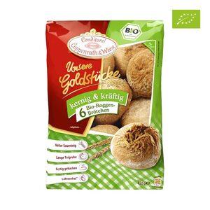 Coppenrath & Wiese Dinkel oder Bio Roggen Brötchen gefroren, jeder 420-g-Beutel und weitere Sorten