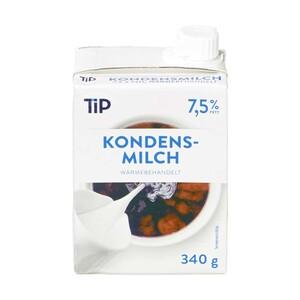 Kondensmilch 7,5% Fettgehalt,  340-g-Packung