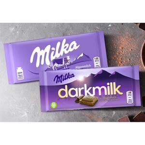 Milka Schokolade versch. Sorten, jede 85/92/100-g-Tafel