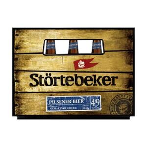 Störtebeker Pilsener Bier, Schwarzbier oder Bernstein Weizen 20 x 0,5 Liter, jeder Kasten