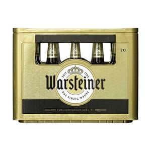 Warsteiner Pils, Alkoholfrei oder Herb 20 x 0,5/24 x 0,33 Liter, jeder Kasten