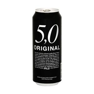 5.0 Original Pils oder Export jede 0,5-Liter-Dose