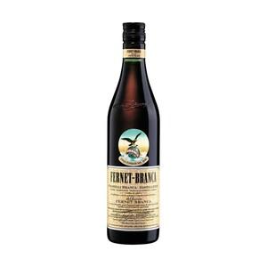 Fernet-Branca oder Branca Menta 39/28 % Vol.,  jede 0,7-l-Flasche