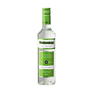 Moskovskaya 38% Vol., jede 0,5-l-Flasche