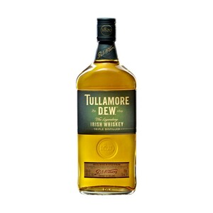 Tullamore Dew Irish Whiskey 40 % Vol.,  jede 0,7-l-Flasche