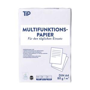 Multifunktionspapier DIN A4 80 g/m², 500 Blatt, weiss, ab 5 Packungen je
