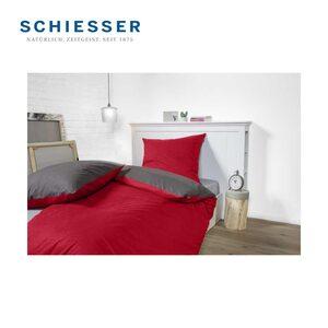 Renforcé- oder Biber-Wende-Bettwäsche 100 % Baumwolle, 135 x 200/80 x 80 cm - 155 x 220/80 x 80 cm für 39,-