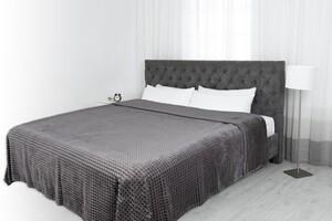 """Dreamtex XXL-Allzweckdecke Cashmere-Touch """"Mountain"""", ca. 220 x 240 cm - Anthrazit"""