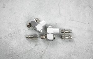 Kraft Werkzeuge Druckluftverbinder Set 360°