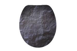 Duschwell MDF High Gloss WC-Sitz Rock