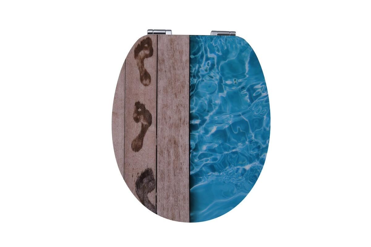 Bild 1 von Duschwell MDF High Gloss WC-Sitz Pool