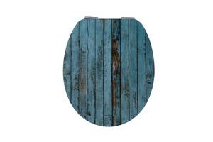 Duschwell MDF High Gloss WC-Sitz Wood
