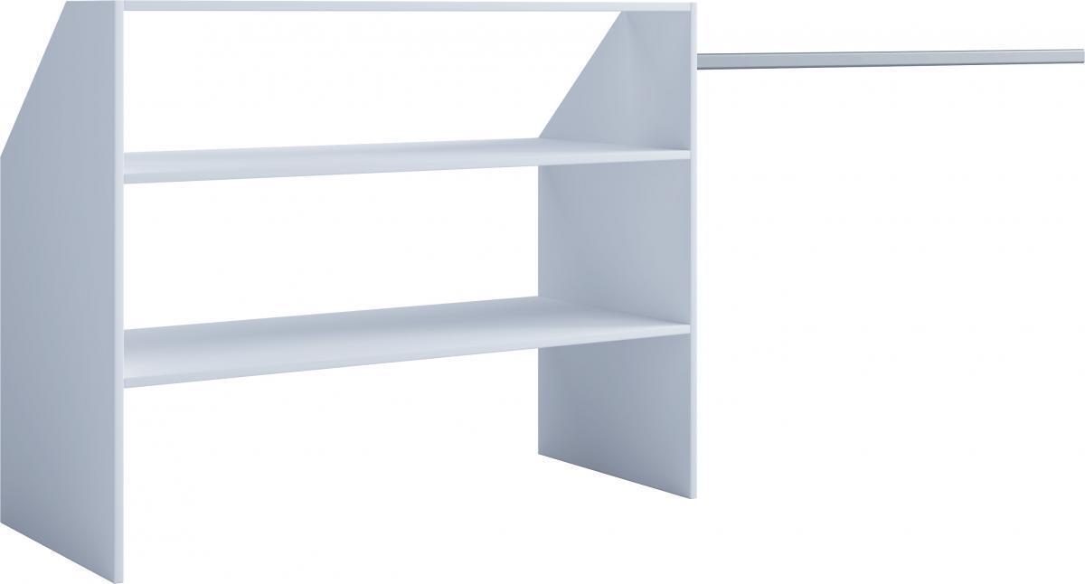 Bild 2 von VCM Dachschrägen-Regal Dacho Weiß