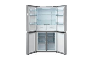 Midea Kühl-/Gefrierkombination Cross Door MD 6.1 Inox-Look