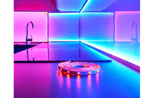 LED-Lichtband mit Farbwechsel LEDs L. 3 m