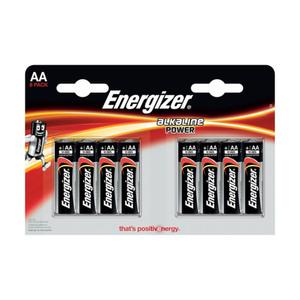 Energizer Batterien AA 8 Stück