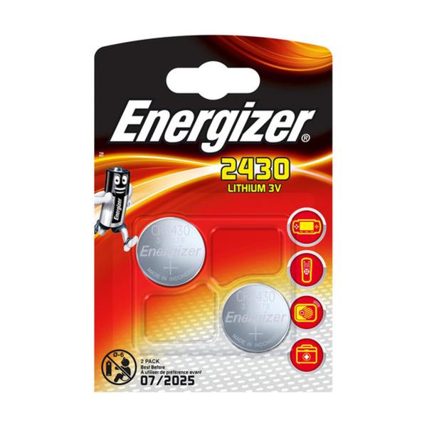 "Energizer Knopfzellen ""CR2430"" 2 Stück"