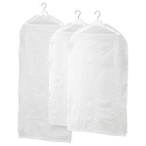 PLURING                                Kleiderschutzhülle 3 St., transparent weiß