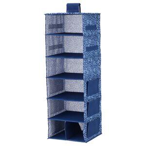 STORSTABBE                                Hängeaufbewahrung, 7 Fächer, blau, weiß, 30x30x90 cm