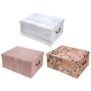 Aufbewahrungsbox in verschiedenen Designs mit Deckel