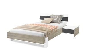 Bett mit Bettkonsole