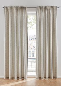 Jacquard Vorhang einfarbig (1er Pack)