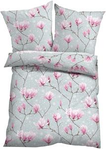 Bettwäsche mit Blumen Design
