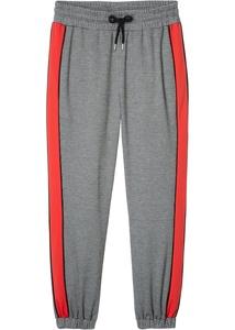 Jersey-Hose mit Seitenstreifen