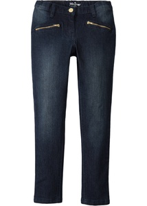 Knöchellange Skinny Jeans mit Ziertaschen