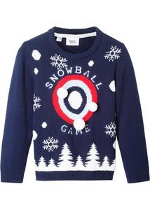 Pullover, Schneeflocken