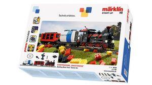 """Märklin 29730 - Märklin Start up - Startpackung """"Bausteinzug"""" mit Sound und Lichtbausteinen. 230 Volt"""