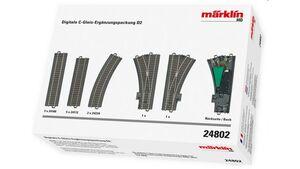 Märklin 24802 - Digitale C-Gleis-Ergänzungspackung D2 H0