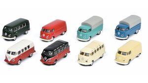 Schuco - Edition 1:87 - VW T1, 8-er Set