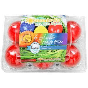 Sonnendorfer bunte Eier 6 Stück