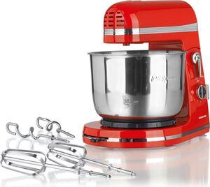 GOURMETmaxx Küchenmaschine 250W rot 3L Rührschüssel