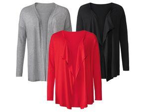 ESMARA® Cardigan Damen, Feinstrick, mit überschnittenen Ärmeln, mit Viskose