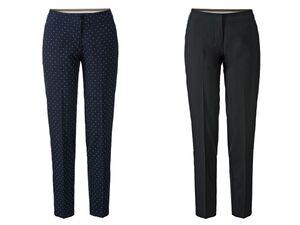 ESMARA® Hose Damen, mit Bügelfalte, elastischer Bund auf Rückseite, mit Viskose