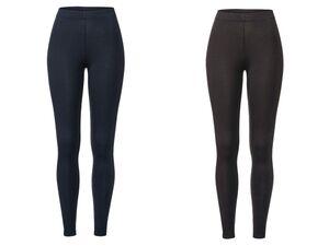 ESMARA® Leggings Damen, elastischer Bund, mit Elasthan